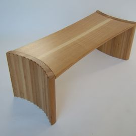 fluted table